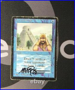 1 Ancestral Recall (#1318) Beta Blue MtG Magic 93/94 Old School Rare 1x x1