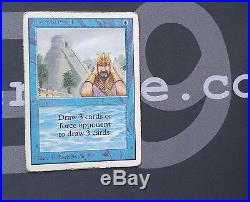 1 Ancestral Recall #78 Unlimited PowerNine Blue Rare P9 Power9 MtG Magic