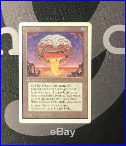 1 Chaos Orb (#0509) Unlimited Artifact MtG Magic 93/94 Old School Rare 1x x1