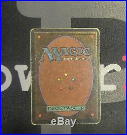 1 Chaos Orb Unlimited MtG Magic Artifact Rare old school 93/94 #0312