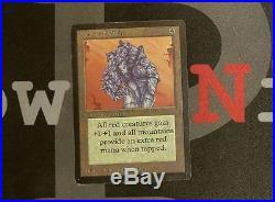 1 Gauntlet of Might Beta MtG Artifact Rare 1x x1 Magic the Gathering #2625