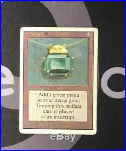 1 Mox Emerald (#1331) Unlimited Artifact MtG Magic 93/94 Old School Rare 1x x1