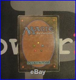 1 Mox Jet Unlimited MtG Magic Artifact Rare old school 93/94 #7852