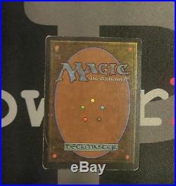 1 Mox Jet Unlimited MtG Magic Artifact Rare old school 93/94 #7952