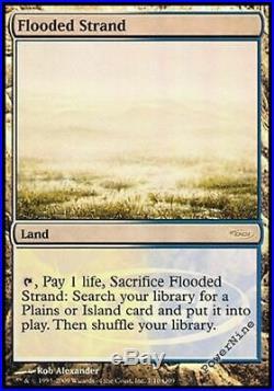 1 PROMO FOIL Flooded Strand Land Judge Mtg Magic Rare 1x x1