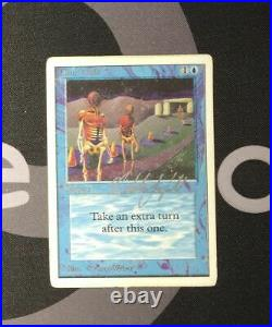 1 Time Walk (#1668) Unlimited Blue MtG Magic 93/94 Old School Rare 1x x1