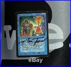 1 Timetwister (#7689) Beta Blue MtG Magic 93/94 Old School Rare 1x x1