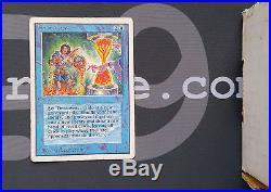 1 Timetwister #82 Unlimited PowerNine Blue Rare P9 Power9 MtG Magic the Gather