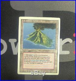 1 Volcanic Island Revised MtG Magic Land Rare old school 93/94 #0202