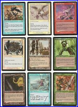 111x MTG 7th Seventh Edition In-Complete Set ALL FOIL MANY RARE CARDS