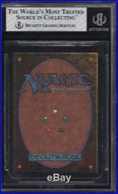 1993 Alpha Wheel Of Fortune Rare Magic The Gathering Card Bgs 7.5 Nearmint+