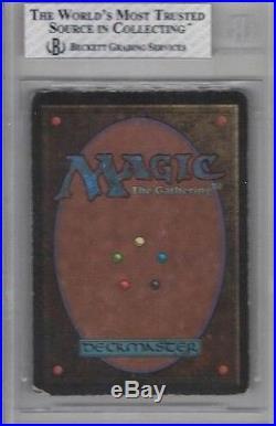 1993 Beta Mox Jet Rare Magic The Gathering Card Bgs 3 Verygood