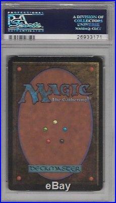 1993 Beta Tundra Rare Magic The Gathering Card Psa 5 Excellent