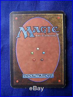 1993 Magic The Gathering CCG Rare card MTG Alpha'Lightning Bolt'. 002645
