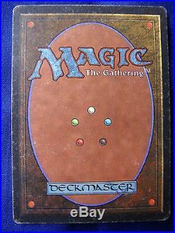1993 Magic The Gathering CCG Rare card MTG Unlimited'Time Walk'. 002646