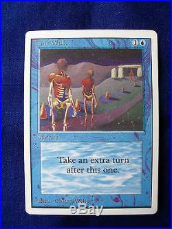 1993 Magic The Gathering Ccg Rare Card Mtg Unlimited Time