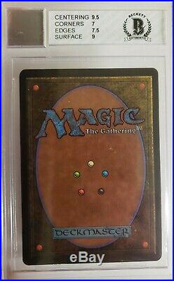 1993 Magic The Gathering MTG Beta Shivan Dragon R R BGS 10 BAS AUTOGRAPH No Res