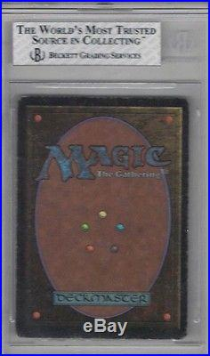 1993 Unlimited Mox Emerald Rare Magic The Gathering Card Bgs 5 Excellent