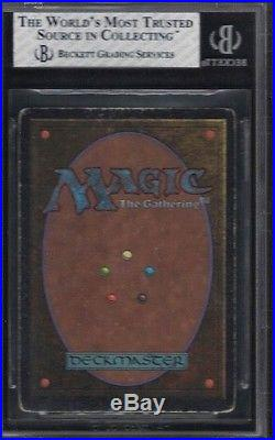 1993 Unlimited Mox Ruby Rare Magic The Gathering Card Bgs 4.5 Vg/ex+