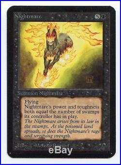 1993 WOTC Magic The Gathering Alpha Nightmare
