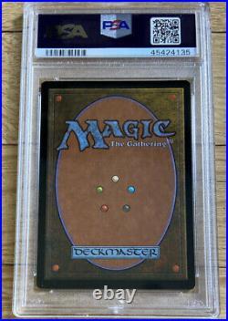 1999 MTG Urza's Legacy Grim Monolith Magic The Gathering PSA 10 RARE! Pop 5