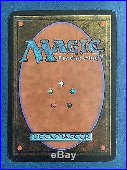 1x Alpha Braingeyser MTG Magic the Gathering Rare Old Gem Vintage