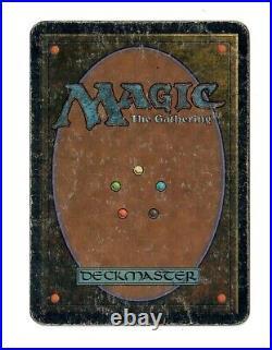 1x Alpha Time Walk HP / Damaged MTG Magic Legacy Vintage Blue Power 9 Heavy Play
