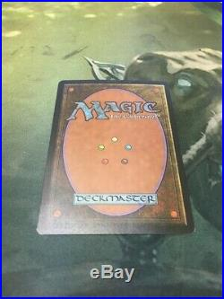 1x Signed Force of Will Alliances Terese Nielsen Mtg Magic Rare Light Play