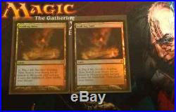 2 X NM/M FOIL Scalding Tarn Zendikar Magic the Gathering MTG Rare land cards