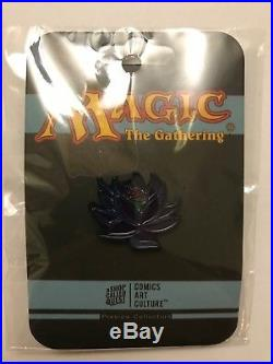 2017 SDCC EXCLUSIVE Magic The Gathering Black Lotus Pin RARE! SEALED Official