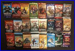 24 Booster Pack Pioneer Lot Chaos Draft Ravnica Khans Kaladesh and more