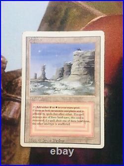 (3)Dual Lands Unlimited Tundra Badlands Revised Plateau MTG Magic the Gathering