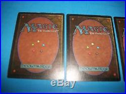 3X Revised Underground Seas LP/EX Magic the Gathering MTG RARE Dual Lands