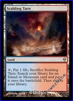 4 Scalding Tarn Zendikar MtG Magic Land Rare 4x x4