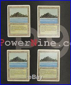 4 Tropical Island Revised MtG Magic Land Rare 4x x4 Magic the Gathering #6953
