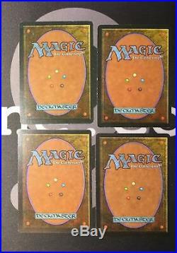 4 Underground Sea (#0712) Revised Land MtG Magic 93/94 Old School Rare 4x x4