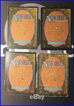 4 Underground Sea (#1905) Revised Land MtG Magic 93/94 Old School Rare 4x x4
