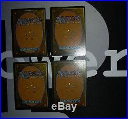 4 Underground Sea (#8974) Revised Land MtG Magic 93/94 Old School Rare 4x x4