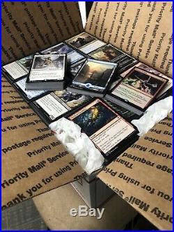 4200+ Magic the Gathering cards Bulk Lot Has 200+ Rares, Foils & Full Art Lands