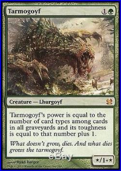 4x MTG 2013 Modern Masters Tarmogoyf Cards NM/M X4 Mythic Rare