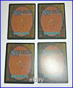 4x Tundra NM x4 Revised Land Island Rare Magic The Gathering MTG Hard 8s Magic