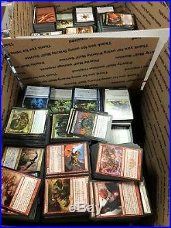 5000 Card Magic the Gathering Lot MTG Bulk Lot! (100 Rares)