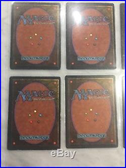 6x Bayou MTG Cards Revised Edition Dual Land Playset RARE Magic the Gathering