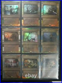 AMONKHET 54/54 COMPLETE MASTERPIECE INVOCATION SET FOIL Force of Will all NM+