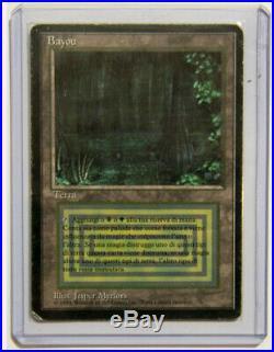 BAYOU 7,5 / LP+ Foreign Black Border (FBB) Rare Dual Land IT MTG