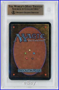 BGS 9.5 QUAD Alpha Mox Emerald Magic MTG Graded