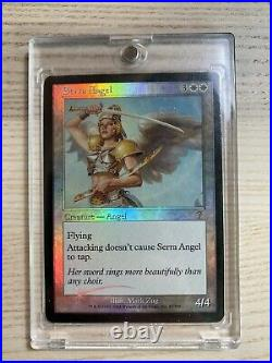 Beautiful Serra Angel 7th Edition Foil NM White Rare MAGIC THE GATHERING MTG