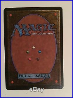 Beta Forcefield NM Signed MTG Magic the Gathering