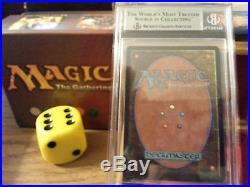 Beta Rare Scrubland BGS Graded 9 NM Magic The Gathering MTG 1993 Dual Land Wow
