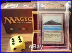 Beta Tropical Island BGS Graded 9.5 Gem Mint Magic The Gathering MTG 1993 Wow